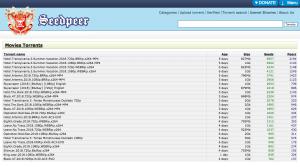 SeedPeer - 1337x proxy