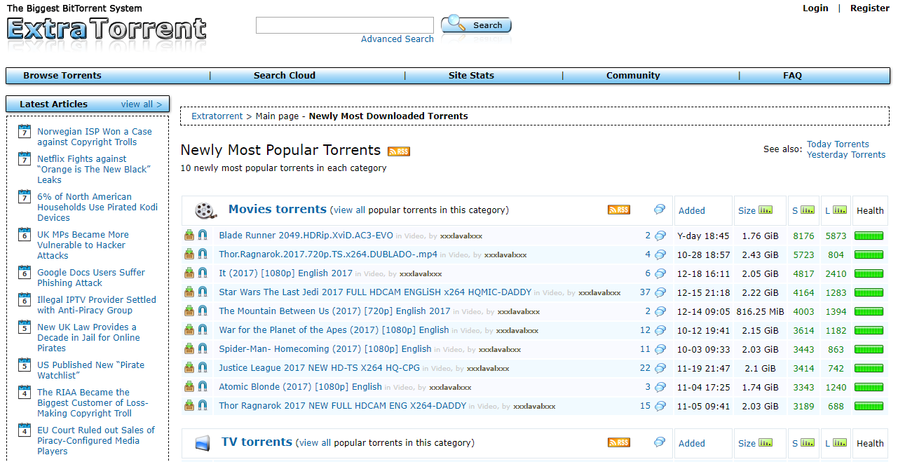 extratorrent as proxy Zooqle