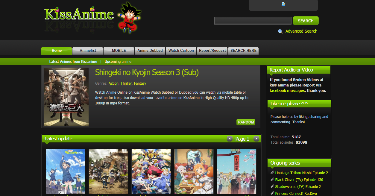 8 Kissanime Alternatives Watch Anime Online English Subbed Dubbed