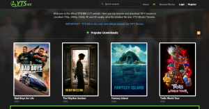 yts/yify - Similar like torrentz2 for movies