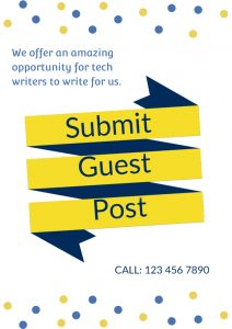 Techdee gives you the opportunity to provide guest posts.