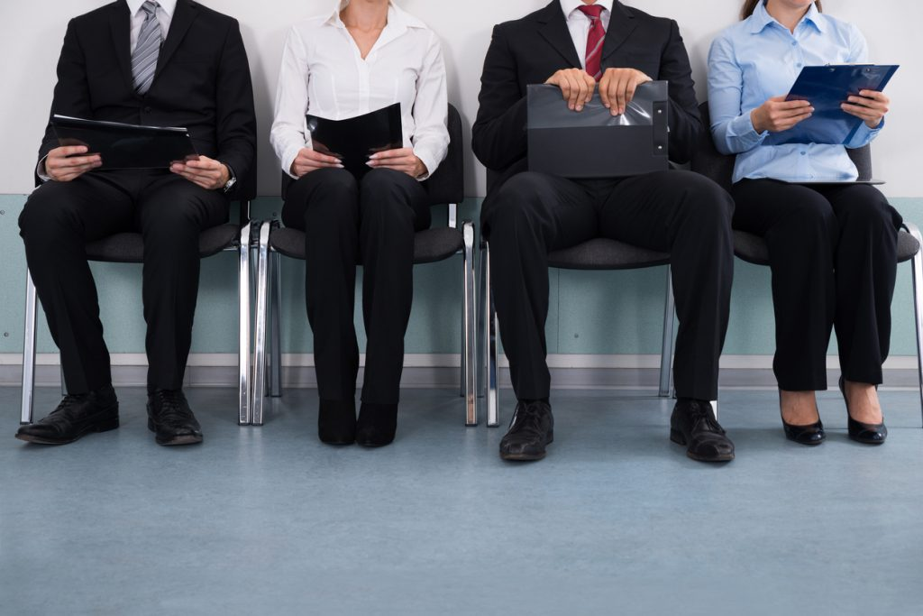 Business people Sitting On Chair