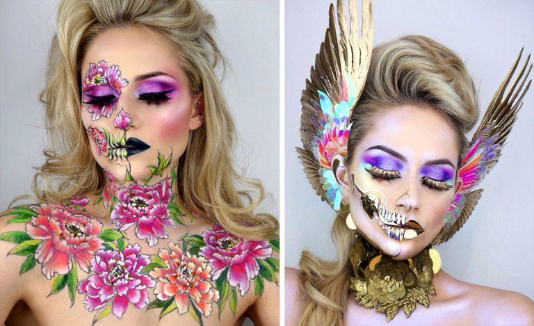 Printed Make-Up