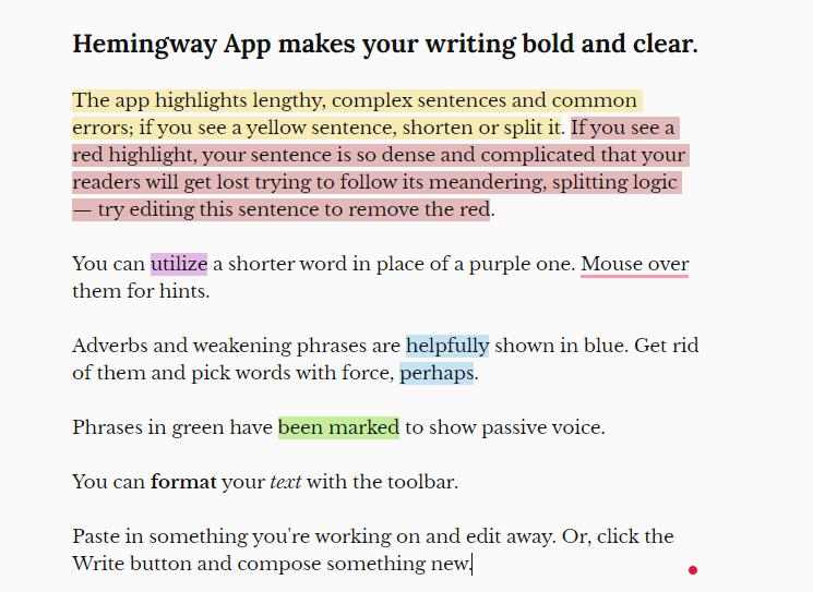 Hemingway's Editor