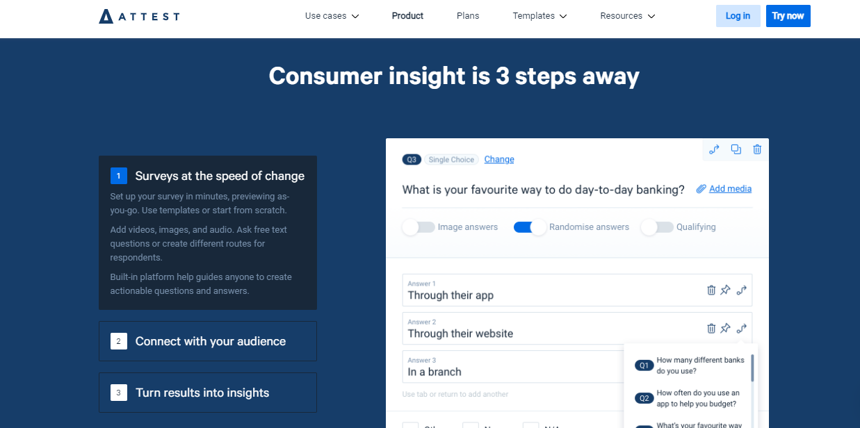 Track your growth with a brand tracker