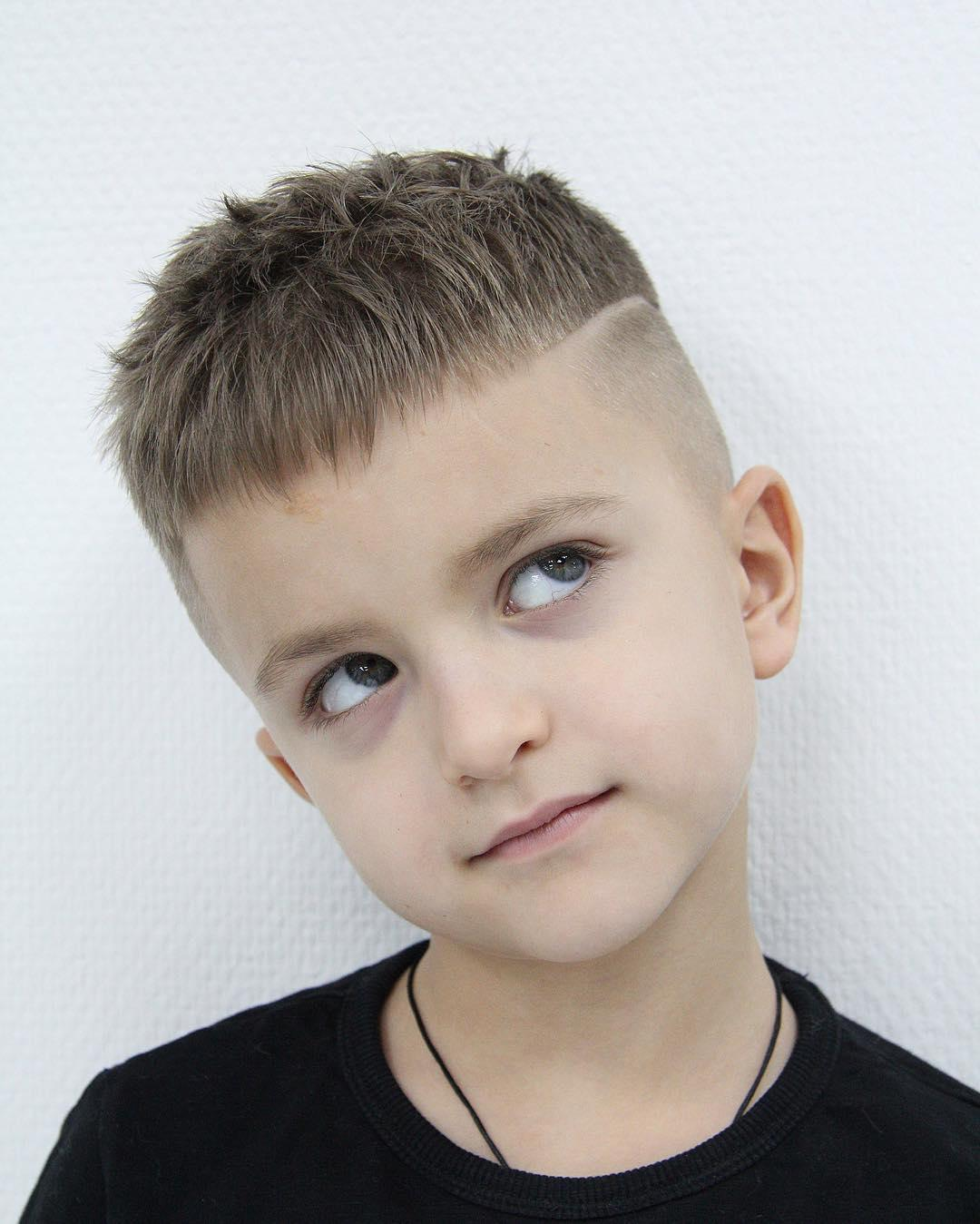 Little Boys Haircuts to Transform Your Boy's Looks