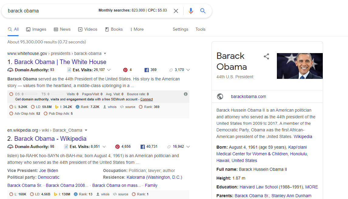 Informative Search