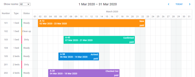 DHTMLX JS Scheduler