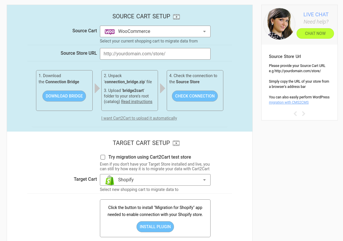 Go into WooCommerce Store Details