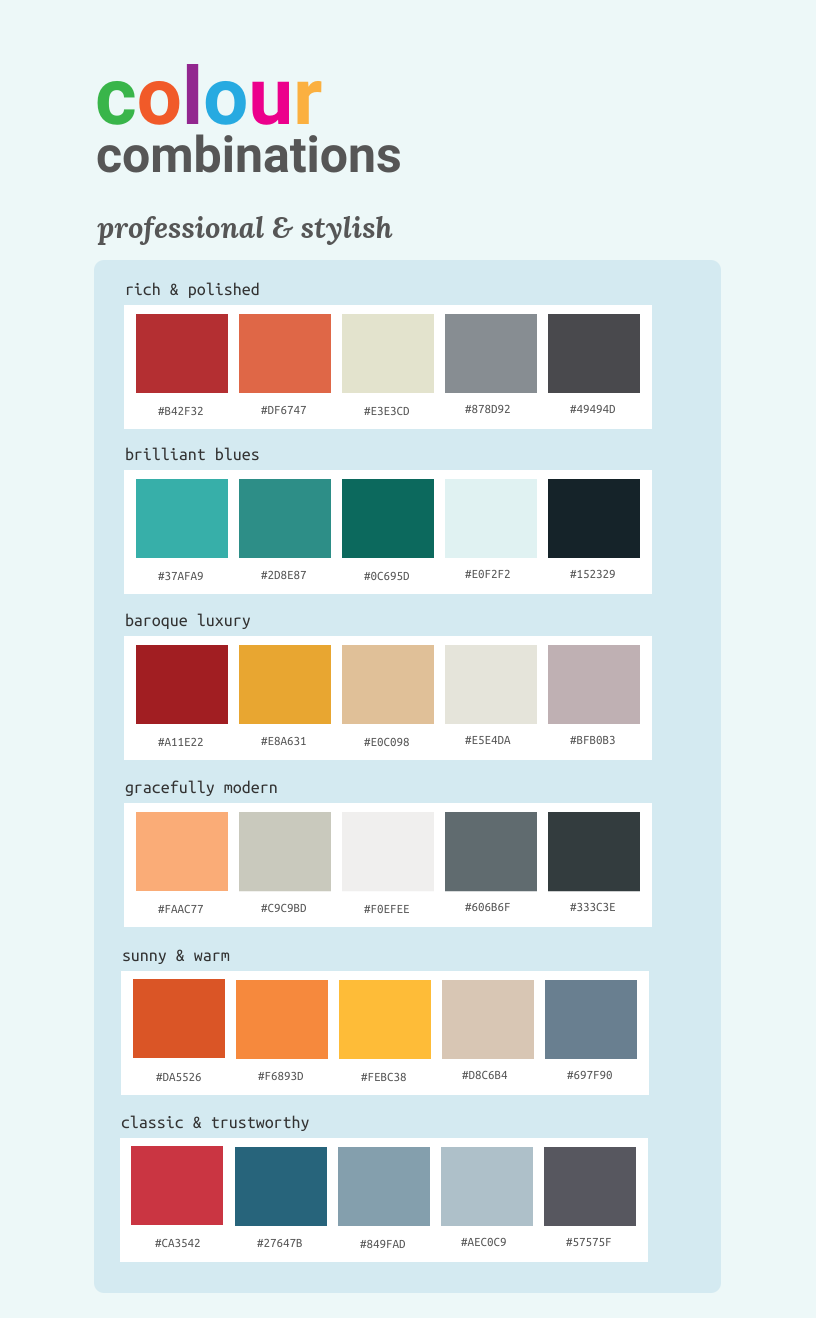 Pick Your Colors Carefully