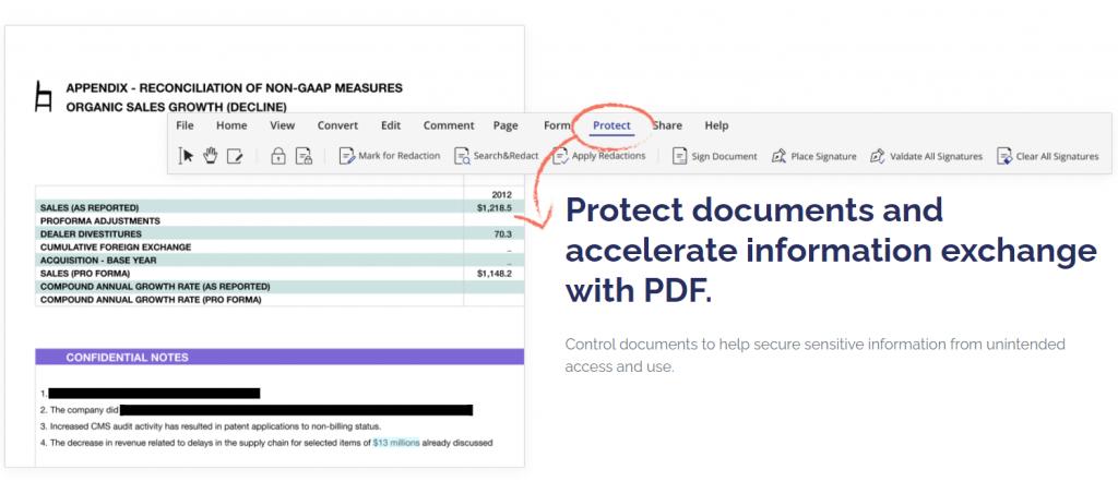Wondershare PDFelement- Document Protection