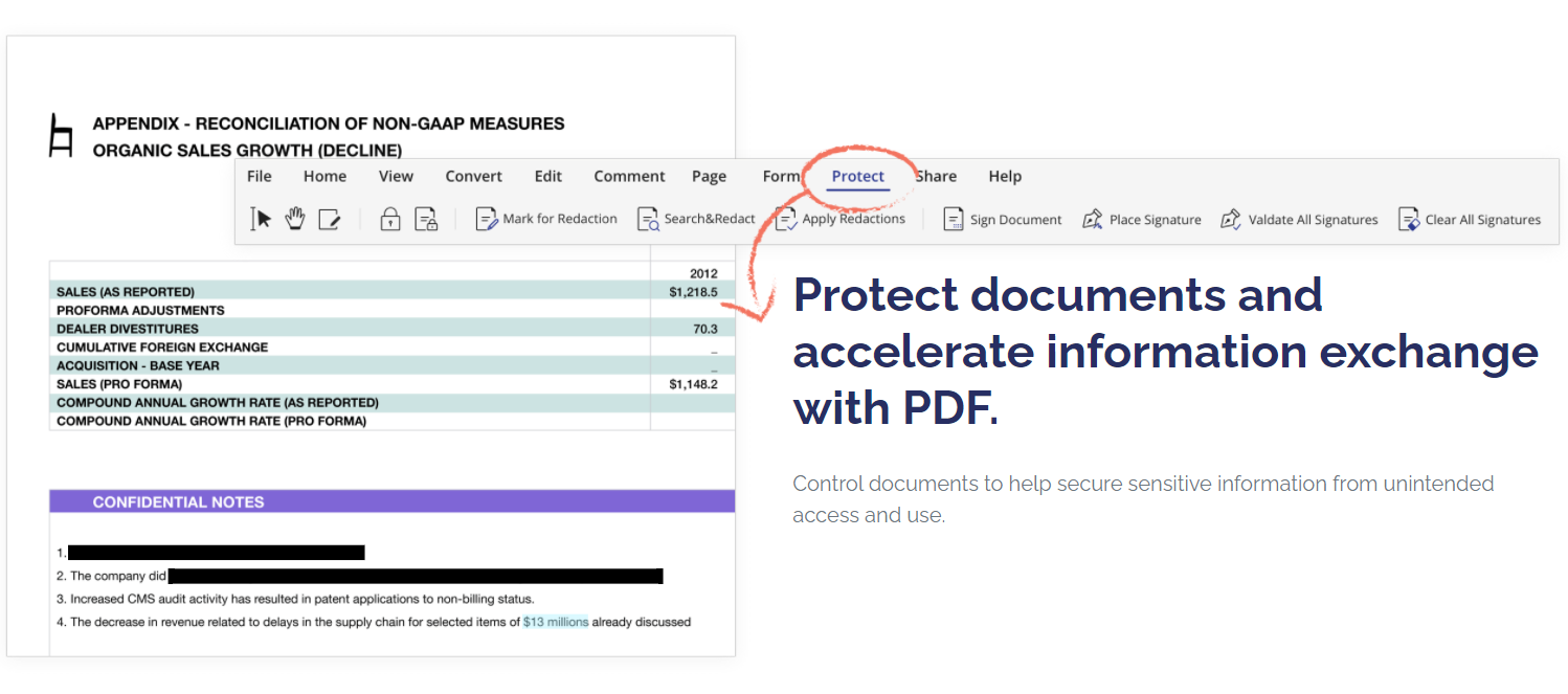 Protect PDFs